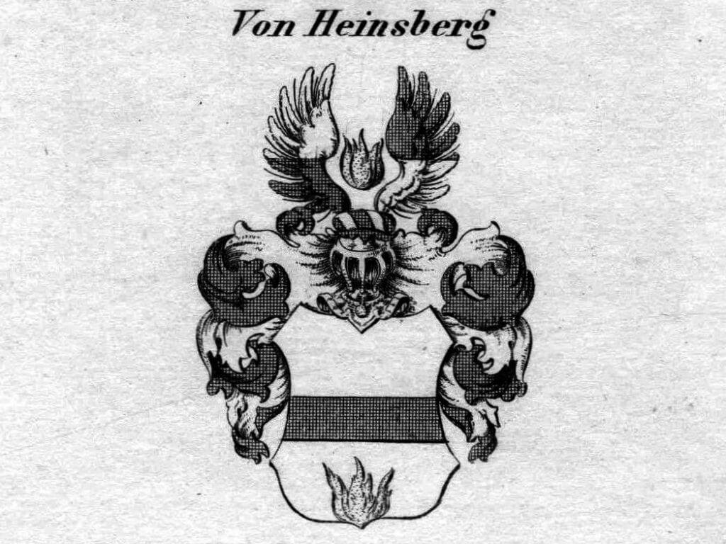 Wappen der Familie Heinsberg