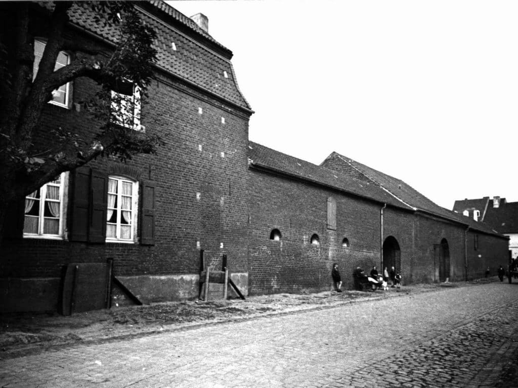 Drenker Hof im Jahre 1938 (Quelle: Der Oberbürgermeister, Stadtarchiv Krefeld)