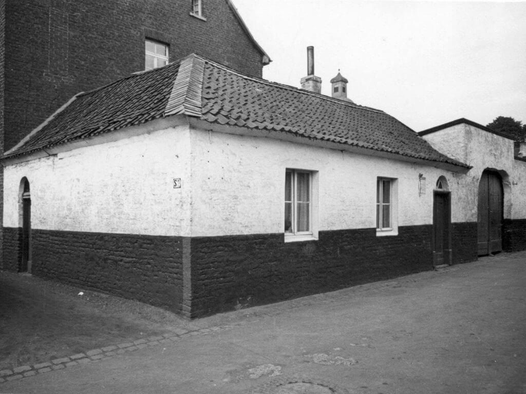Beckerhof im Jahre 1938 (Quelle: Der Oberbürgermeister, Stadtarchiv Krefeld)