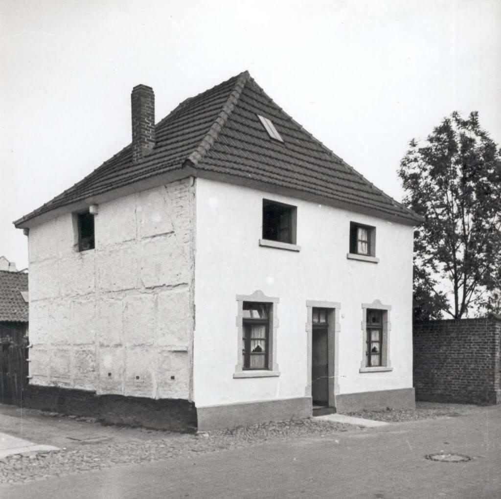 Küsterhaus im Jahre 1938 (Quelle: Der Oberbürgermeister, Stadtarchiv Krefeld)