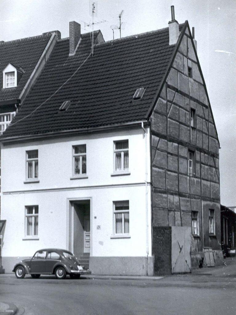 Rheinbabenstr. 88 im den 1950er Jahren