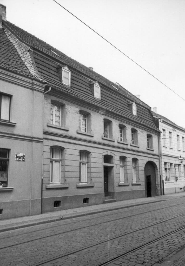 Simon Hof im Jahre 1938 (Quelle: Der Oberbürgermeister, Stadtarchiv Krefeld)