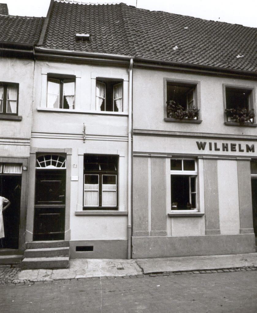 Issumer Str. 13 im Jahre 1938 (Quelle: Der Oberbürgermeister, Stadtarchiv Krefeld)