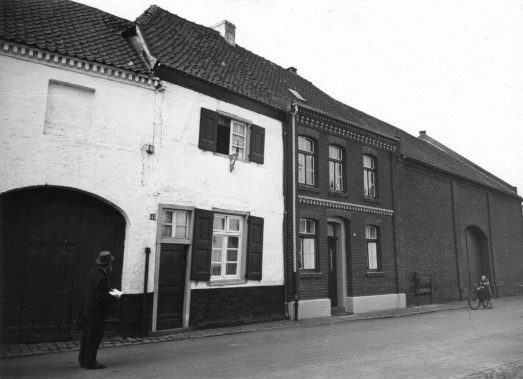 Margaretenstr. 47 im Jahre 1938 (Quelle: Der Oberbürgermeister, Stadtarchiv Krefeld)