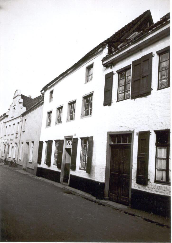 Margaretenstr. 32 im Jahre 1938 (Quelle: Der Oberbürgermeister, Stadtarchiv Krefeld)