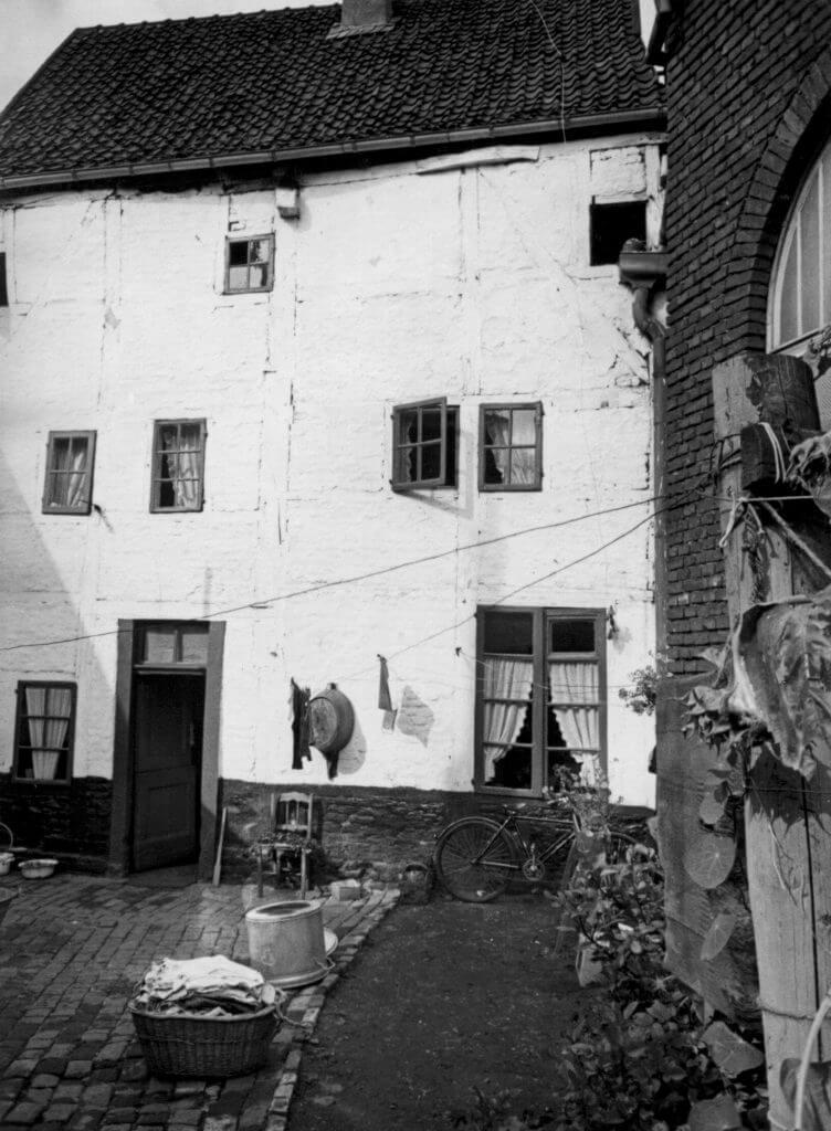 Rückseite Margaretenstr. 32 im Jahre 1938 (Quelle: Der Oberbürgermeister, Stadtarchiv Krefeld)