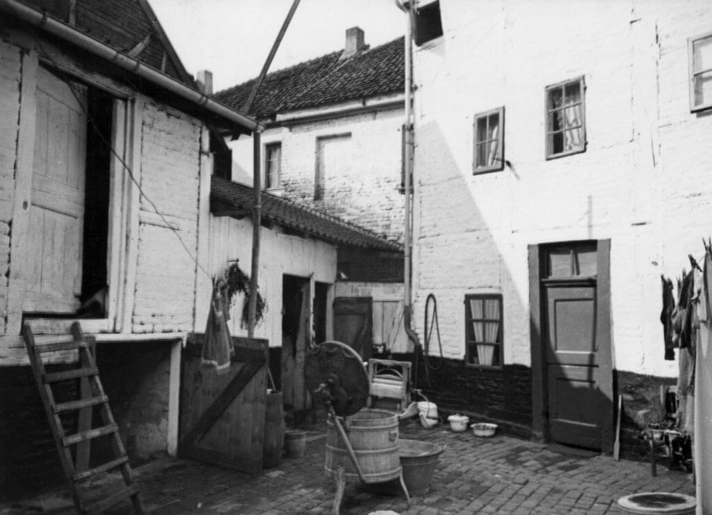 Rückseite Margaretenstr. 32/34 im Jahre 1939 (Quelle: Der Oberbürgermeister, Stadtarchiv Krefeld)