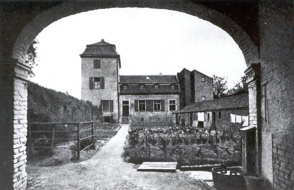 Issumer Turm Postkarte ca. 1900 (Quelle: Privat)