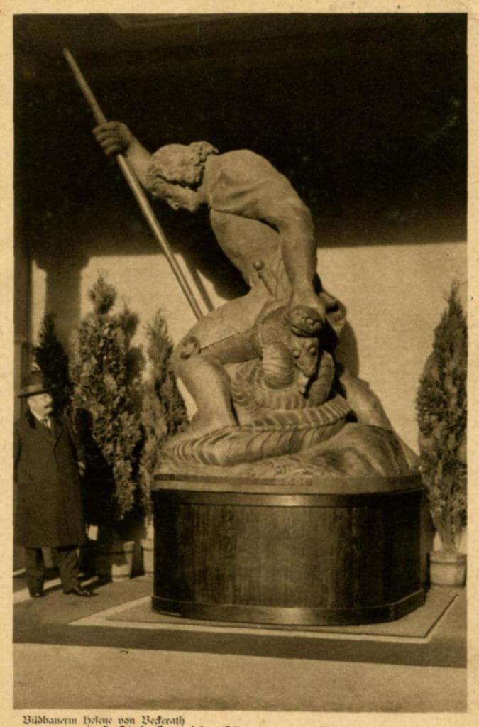 """Postkarte """"Der eiserne Georg"""" 1916 (Quelle: Privat)"""